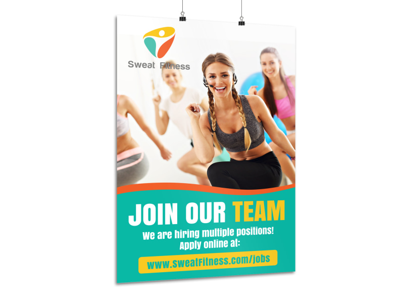 Join Our Team Poster Template