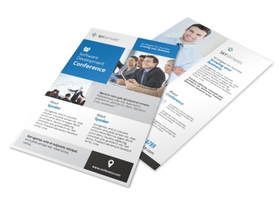 Business Conference Invitation Flyer Template preview