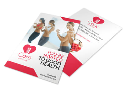Weight Loss Health Flyer Template