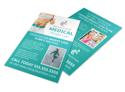 Medical Weight Loss Flyer Template preview