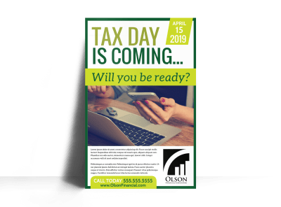 Tax Posters Template Preview