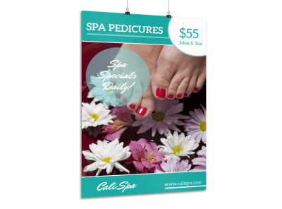 Spa Nail Special Poster Template