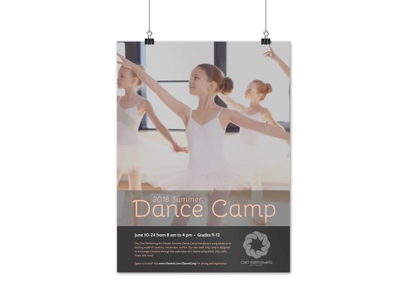 Summer Dance Camp Poster Template
