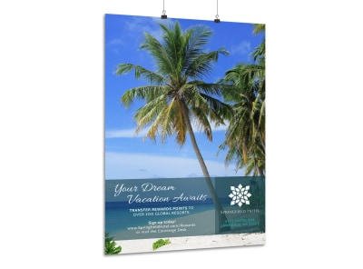 Luxury Hotel Poster Template