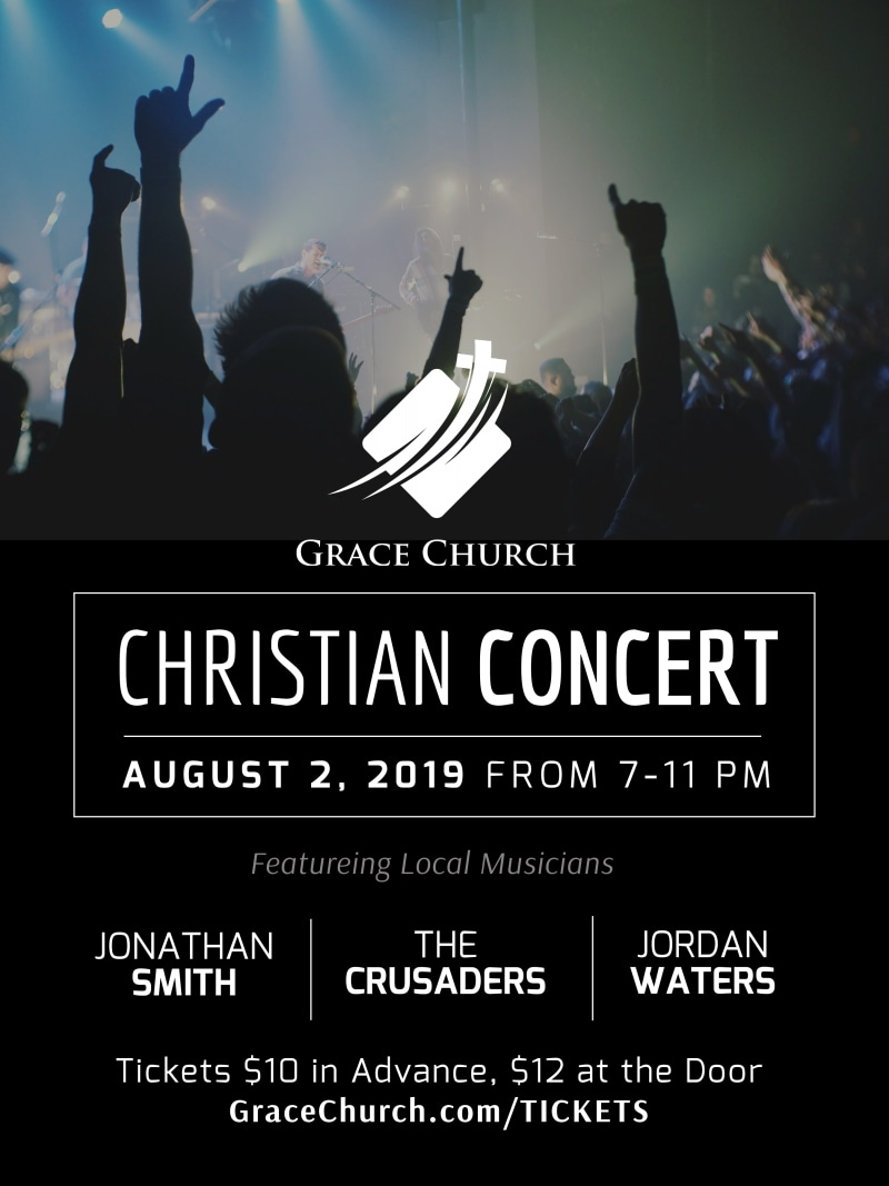 Church Christian Concert Poster Template Preview 2