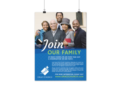 Church Outreach Poster Template