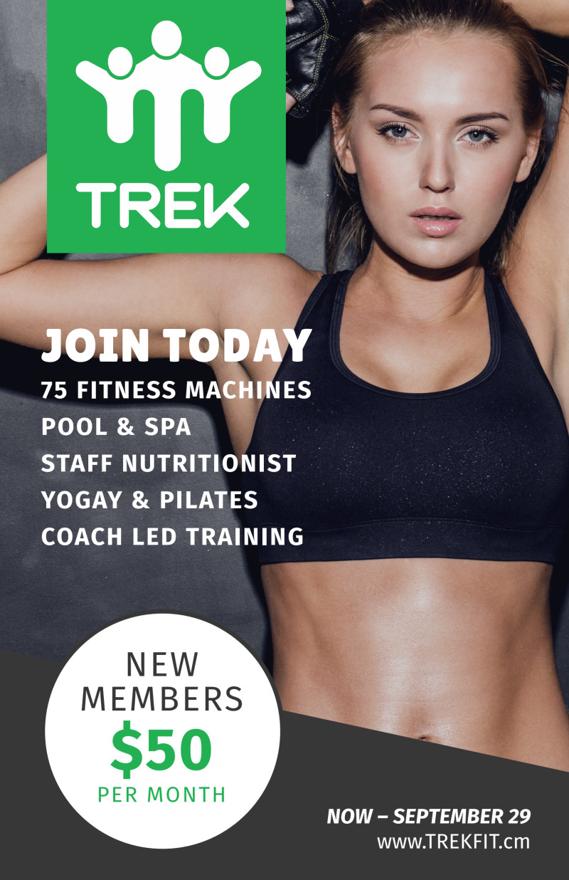 Fitness Membership Poster Template Preview 2