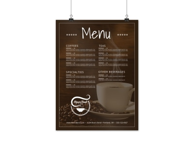 Coffee Shop Menu Poster Template c5bwyjfg6z preview