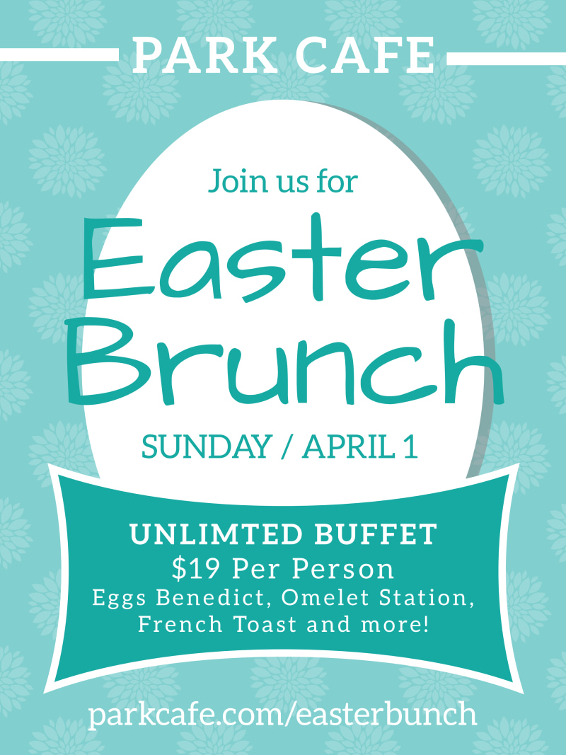 Easter Brunch Poster Template Preview 2