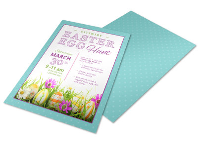 Easter Egg Hunt Easter Flyer Template gnrkyw8n96 preview
