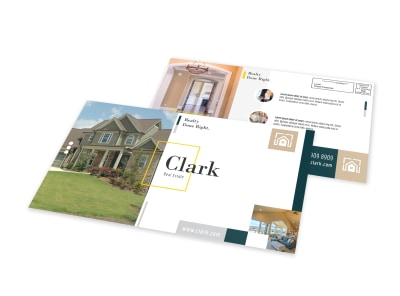 Realtors Elegant EDDM Postcard Template preview
