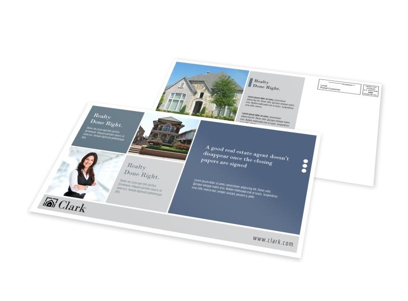 Realtors EDDM Postcard Template