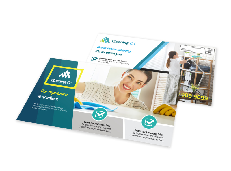 Cleaning Business EDDM Postcard Template