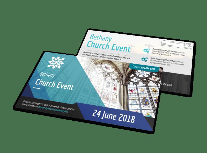Church Event EDDM Postcard