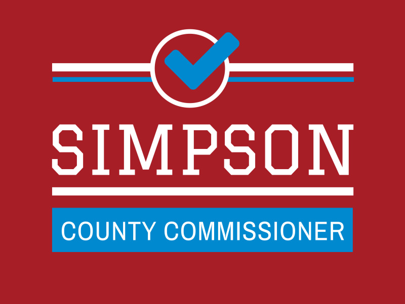 Commissioner Political Yard Sign Template Preview 2