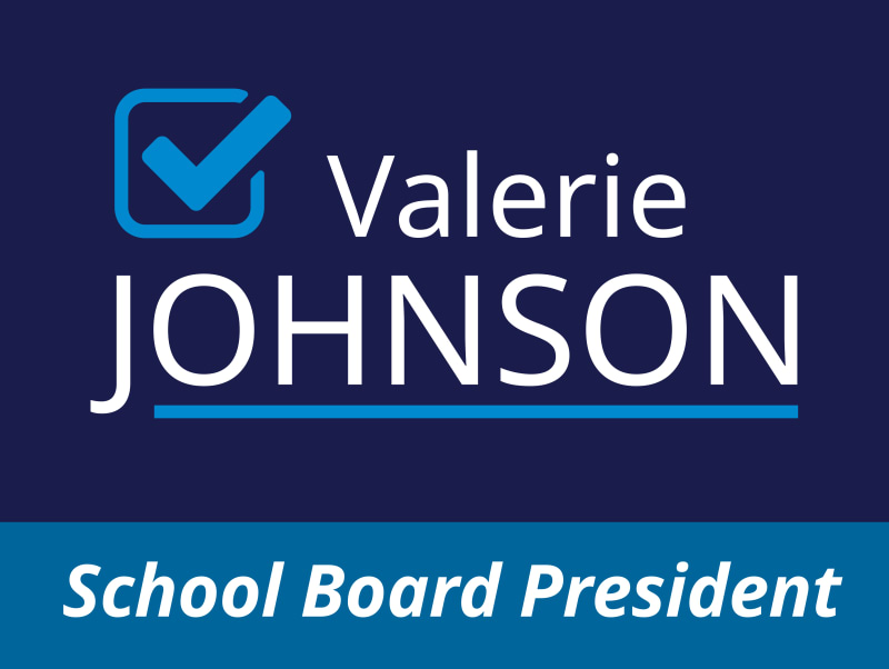 School President Political Yard Sign Template Preview 3