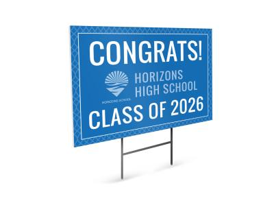 Graduation School Yard Sign Template it0u14r7si preview