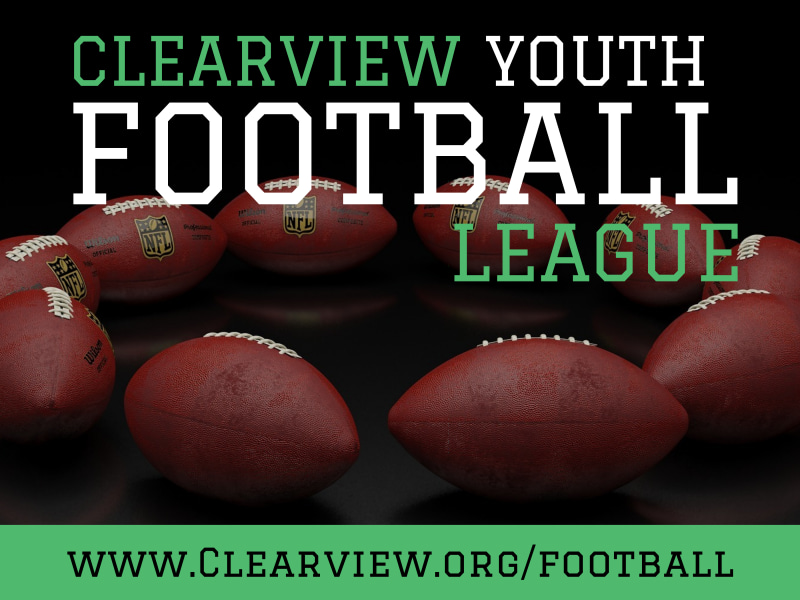 Youth Football Yard Sign Template Preview 2