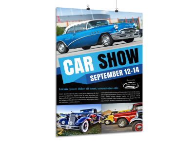 Car Show Posters Template Preview