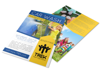 Car Wash Fundraiser Flyer Template preview