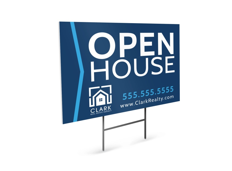 Real Estate House Yard Sign Template