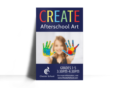 After School Program Posters Template Preview