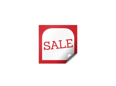 Product Sale Sticker Template
