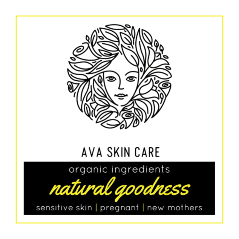 Skin Care Sticker Template Preview 2