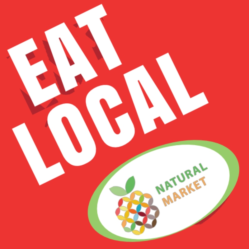 Eat Local Sticker Template Preview 2