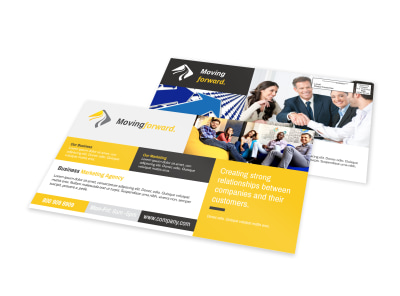 Business Marketing EDDM Postcard Template