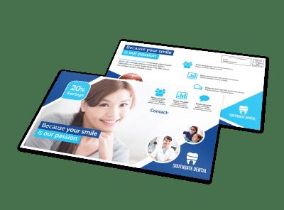 Dental EDDM Postcards Template Preview