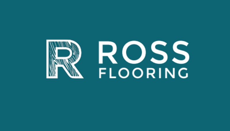 Teal Flooring Business Card Template Preview 3