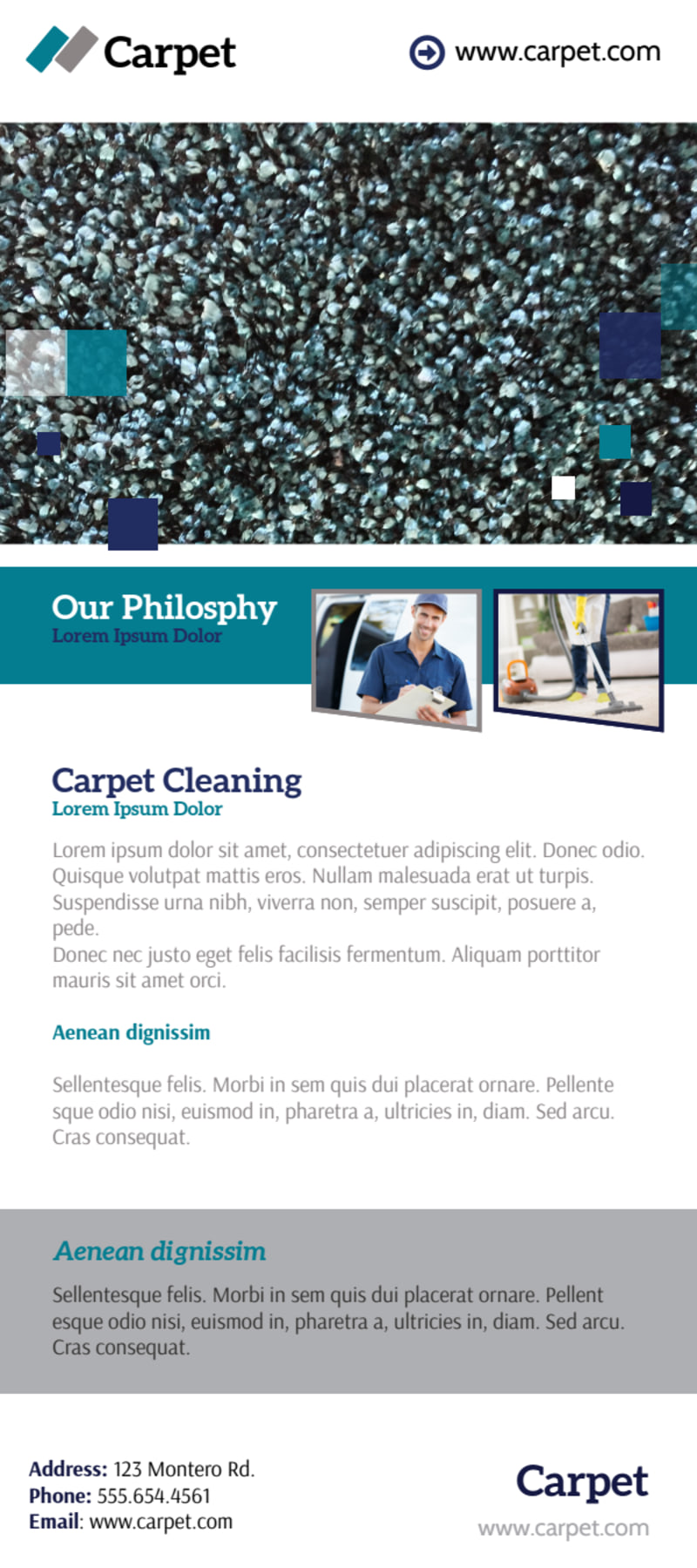 Beautiful Carpet Cleaning Flyer Template Preview 3