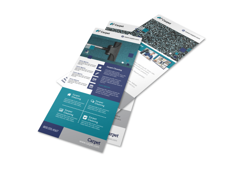 Beautiful Carpet Cleaning Flyer Template Preview 1