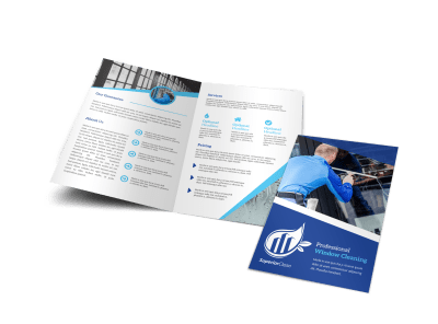 Window Cleaning Brochures Template Preview