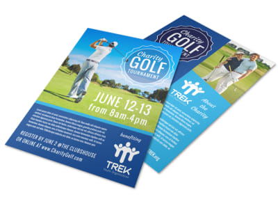 Charity Golf Flyer Template preview