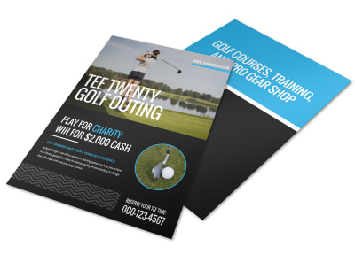 Golf Outing Flyer Template preview