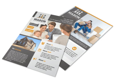 Reliable Mortgage Flyer Template preview