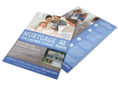 Mortgage Experts Flyer Template preview