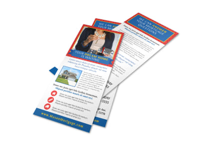 Home Mortgage Flyer Template preview