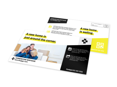 Mortgage Outreach EDDM Postcard Template