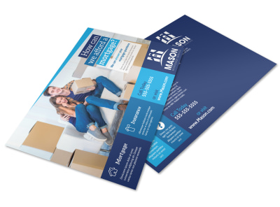 Mortgage Outreach Postcard Template preview