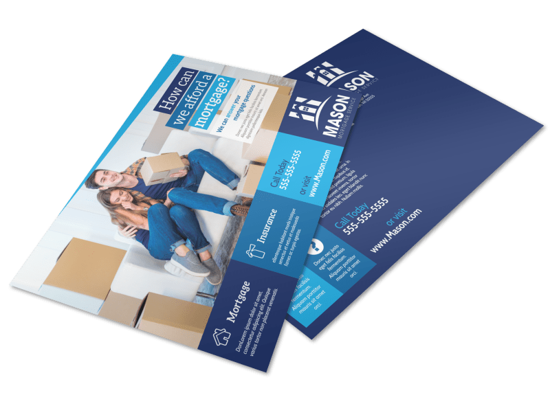 Mortgage Outreach Postcard Template Preview 1