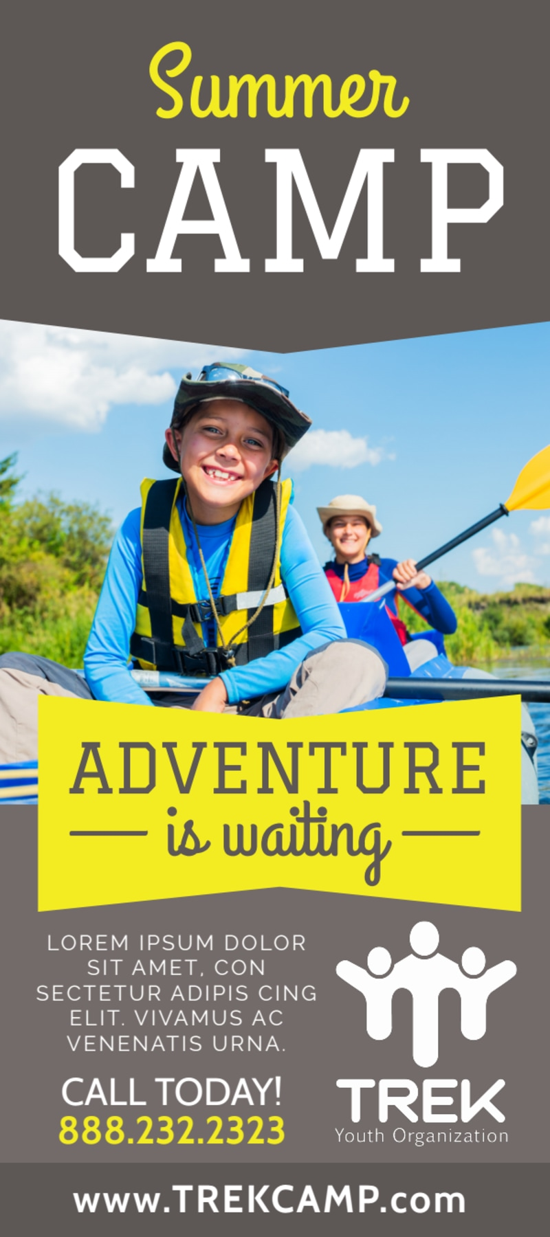 Adventure Camp Flyer Template Preview 2