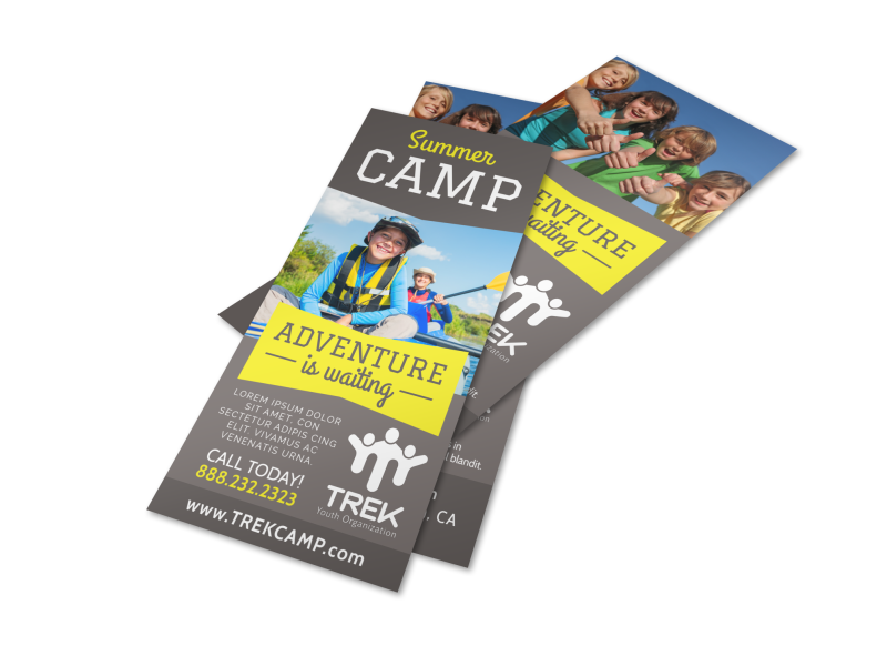 Adventure Camp Flyer Template Preview 1
