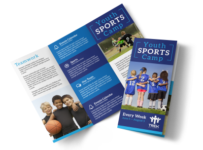 Sports Camp Brochure Templates Template Preview