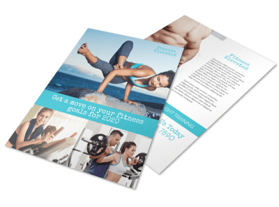 Fitness Elevated Flyer Template