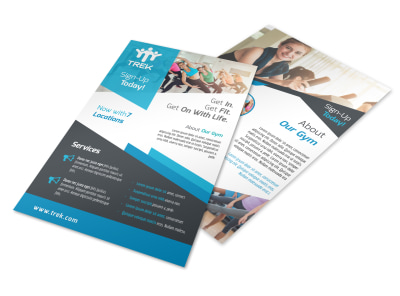 Fitness Details Flyer Template preview