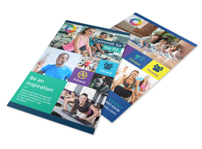 Be Fit Gym Flyer Template Preview 4