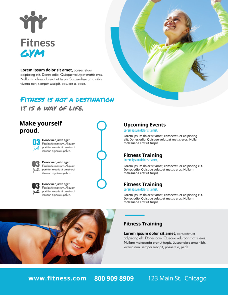 Flexible Gym Flyer Template Preview 2